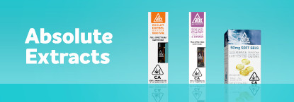 Absolute Extracts (ABX) products on Grassdoor delivery