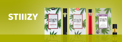 Stiiizy cannabis products on Grassdoor delivery