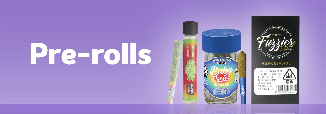 Shop marijuana pre-rolls on Grassdoor
